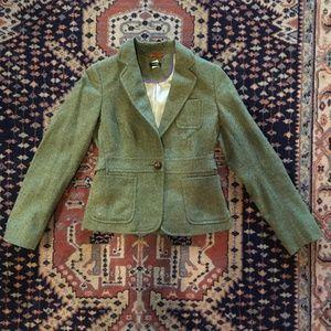 Robert Noble for J.Crew wool tweed riding blazer